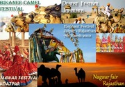 Enthrall with Colorful festive season in Bizzare desert of Rajasthan