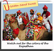 Special tour to the colorful Rajasthan