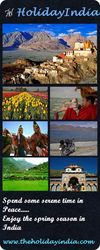 A serenic holiday in India this spring season with HolidayIndia