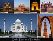 Experience the mysterious Land - Delhi with Taj Mahal tour